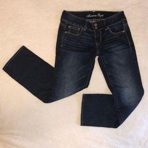 American Eagle Artist Stretch Jeans Size 00 Reg.